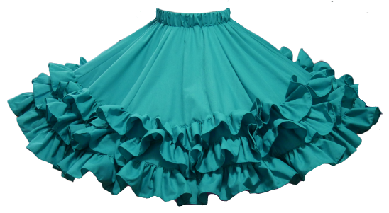 ----- Made to Order ----- Style #1020 Triple Frill