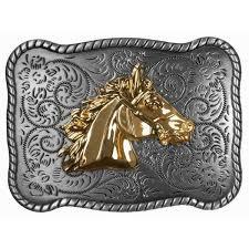Buckle - Gold Horse Head - BU1061