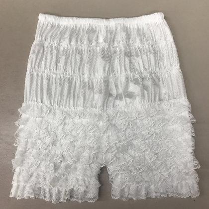 White Petti Pants