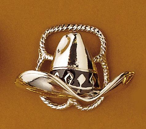 Scarf Slide - Silver Hat