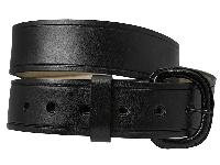 Black Leather Belt - #209