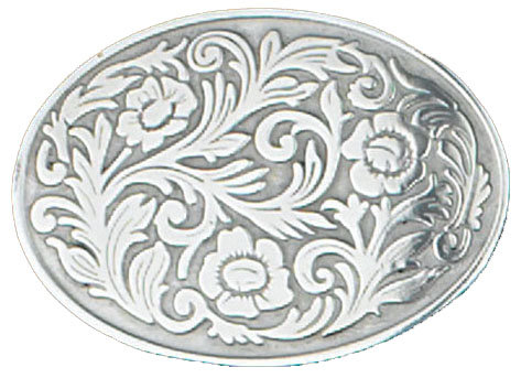 Buckle #Oval Floral G-4644