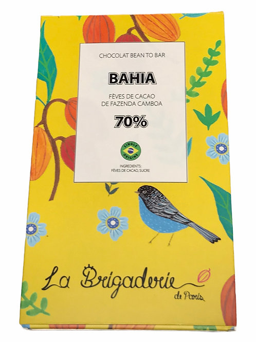 BAHIA 70% bean to bar