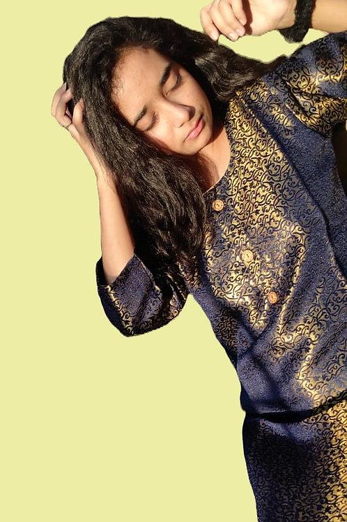 Neel Shyam Banarasi Silk