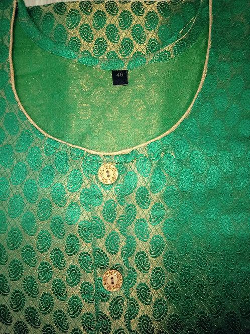 Panna Banarsi Silk