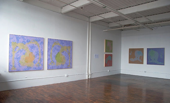 David Kueher, New Haven, CWOS, Artspace, Painter, Half-Life of Memory, Meeting the Two Eternities