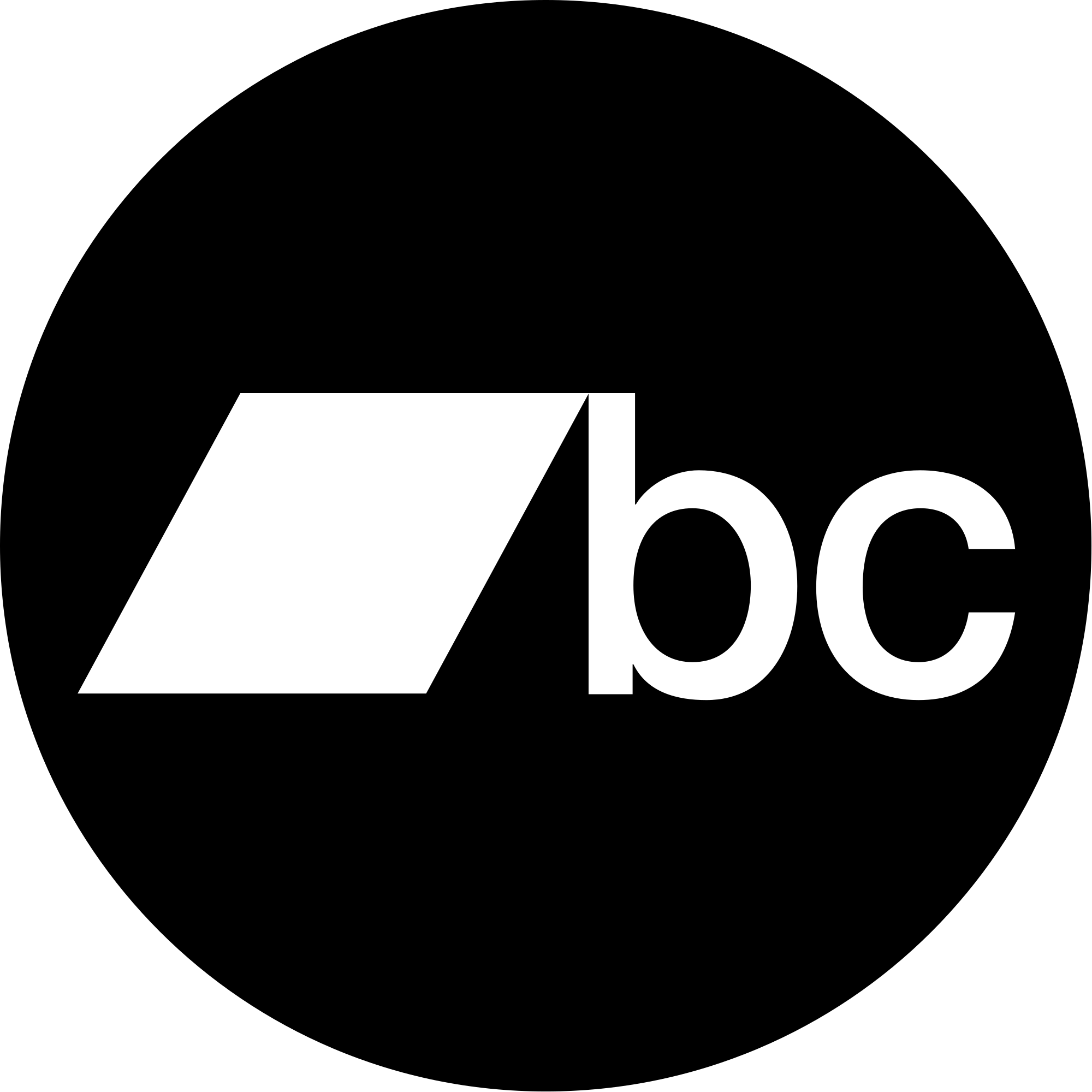 bandcamp logo black background - HD2000×2000