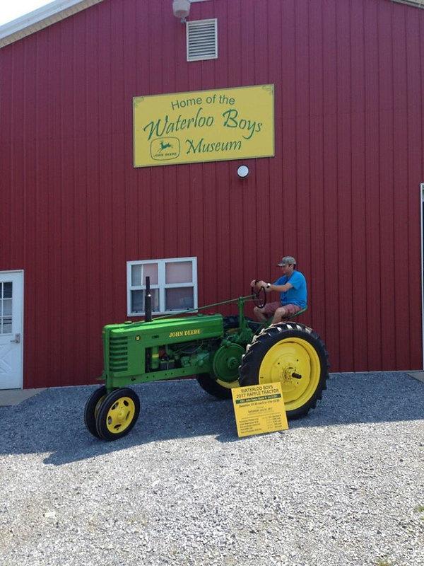 Antique Raffle tractor winner for 2017