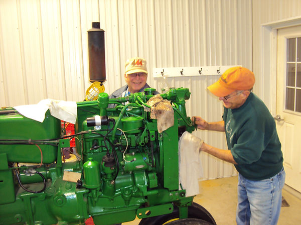 John Deere Model A Tune Up