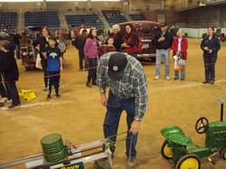 antique pedal tractor pull