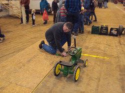 Pedal Tractor Setup