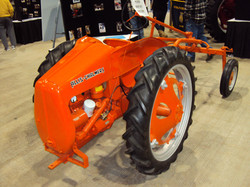 rare tractor orange