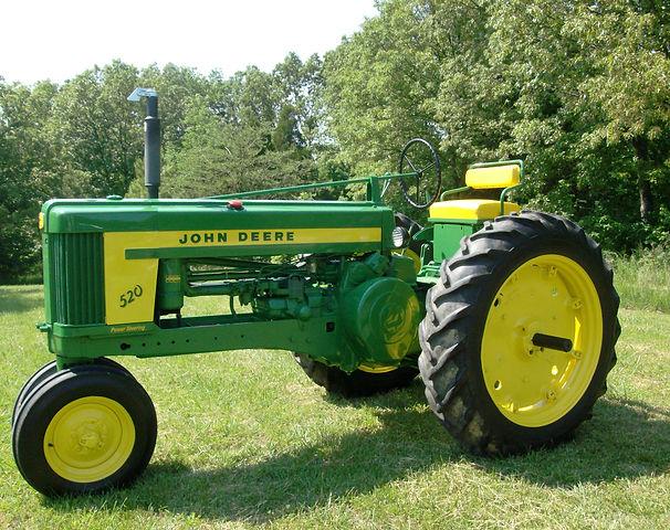1956 John Deere Model 520 Rafle Tractor