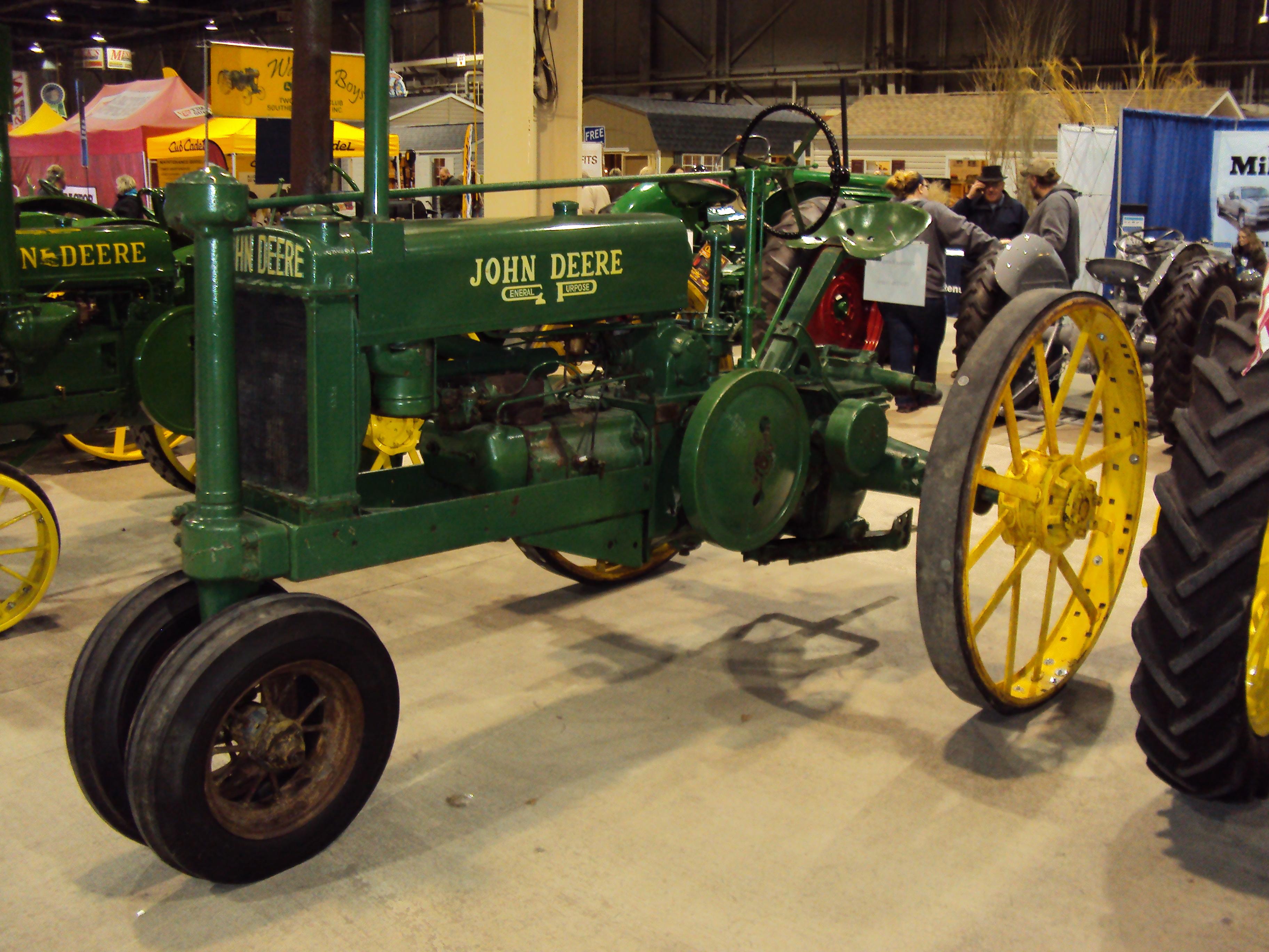 Member Antique John Deere Tractor