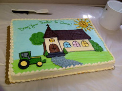 Take your tractor to Church!