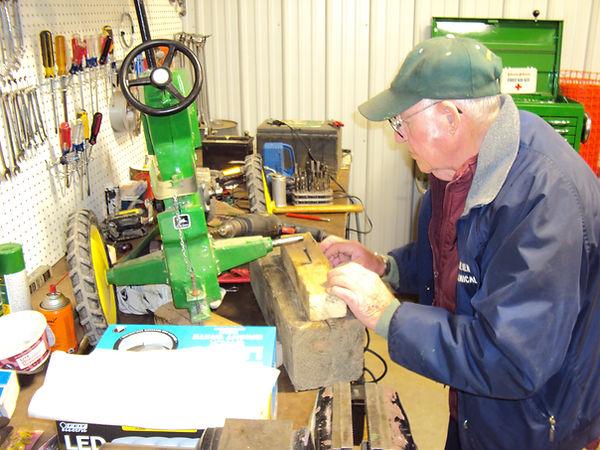 John Deere pedal tractor repair