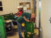 Repairing a John Deere pedal tractor