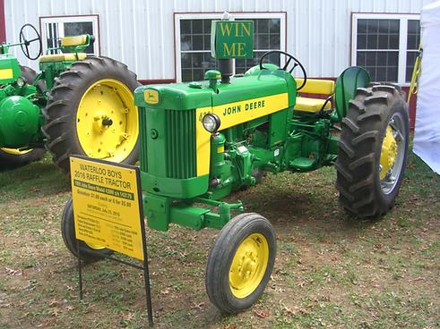 Completely Restored Antique John Deere Tractor, 1959 Model 430, Rare John Deere Tractor