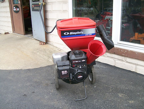 Used Simplicity Chipper / Shredder For Sale