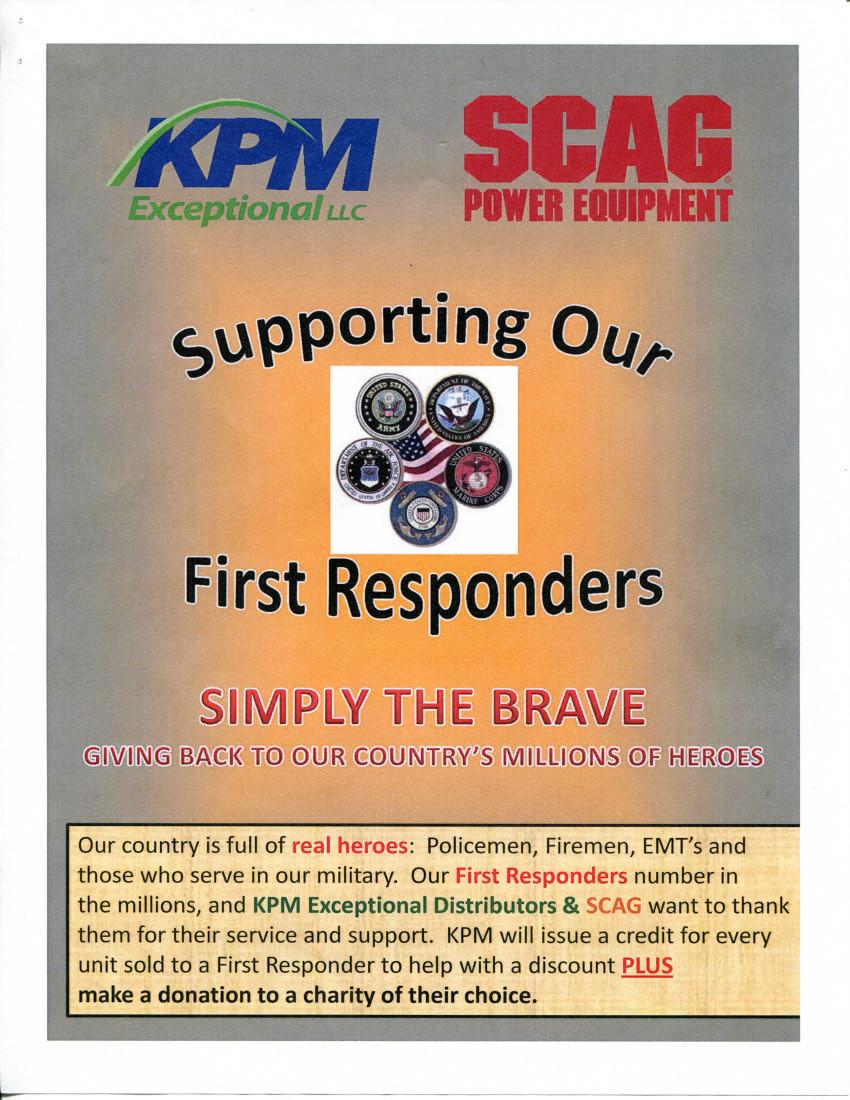 Scag Mower Discount Flyer
