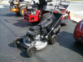 Used YBravo Push Mower For Sale