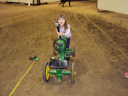 Our little helper PA farm show