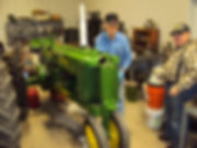 Antique John Deere restoration at tech night