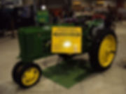 2017 antique raffle tractor from Waterlooy Boys of PA