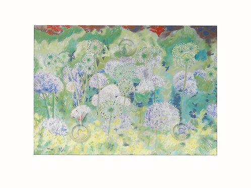 Original Pastel Chatsworth Alliums