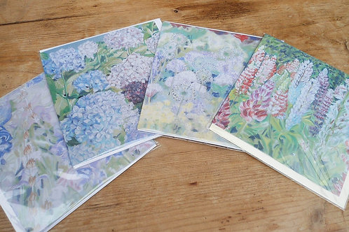 Pastel card selection x 5 different designs