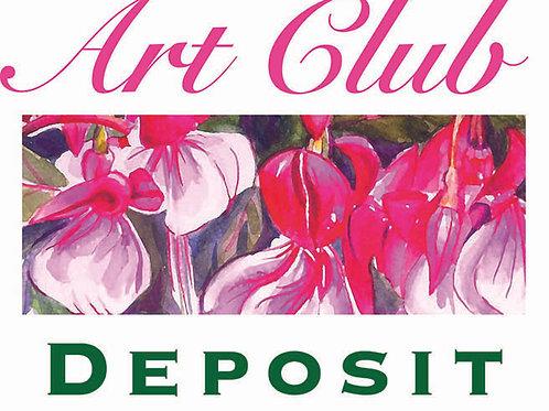 Art Club deposit