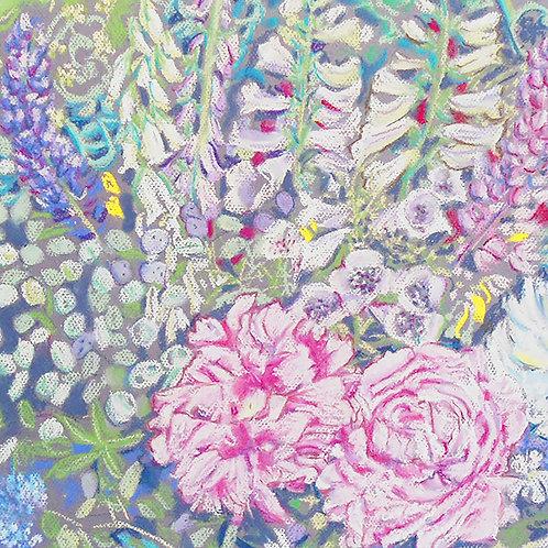 Chatsworth cut flowers pastel
