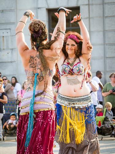 Erika Miller-Tranquilessence Tribal Fusion Bellydance
