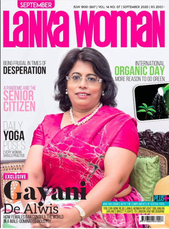 Our Own Gayani De Alwis featured in Lanka Woman Magazine