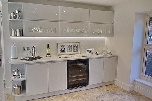 Bespoke Kitchens Grimsby - Dove grey kitchen units