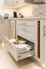 Inframe Handpainted Kitchen