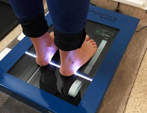 Scan pés