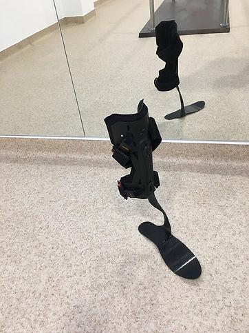 Ortotese pé pendente