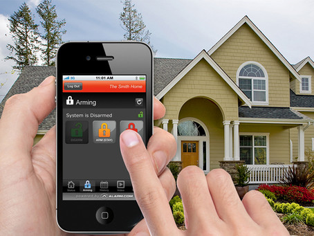 5 Advantages of a Wireless Security System using Alarm.com