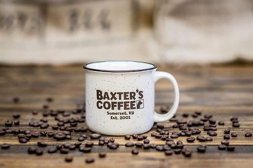 Baxter's Campfire Mug, White