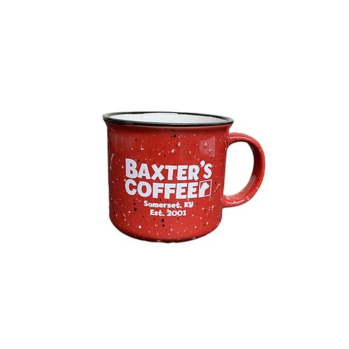 Baxter's Campfire Mug, RED