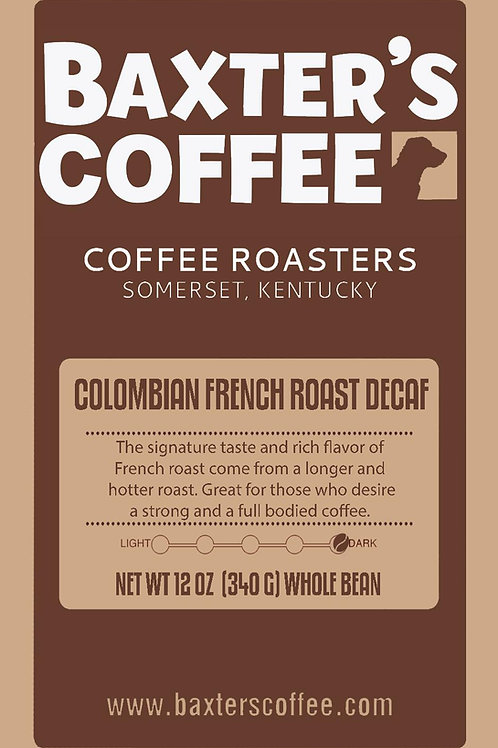 Colombian French Roast DECAF