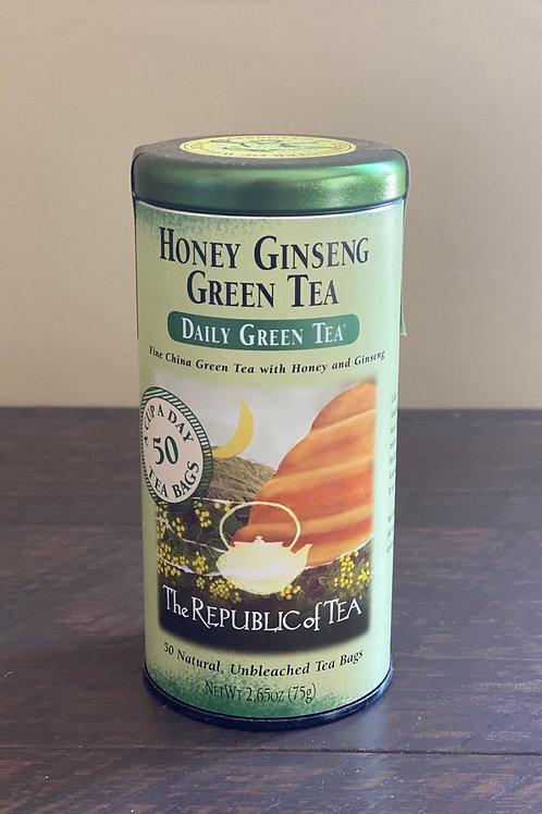 Honey Ginseng Green Tea