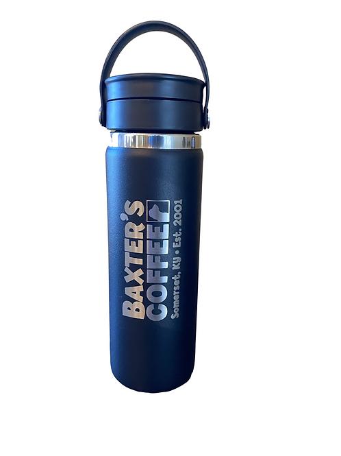 Baxter's Hydro Flask 20oz, BLACK