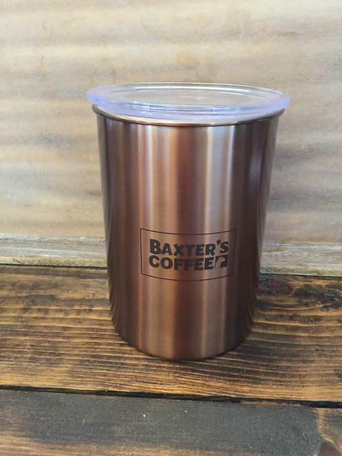 Baxter's Airscape Coffee Canister