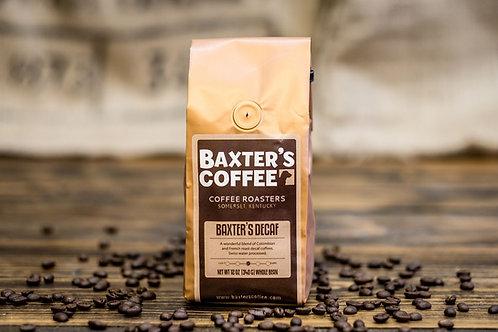 Baxter's DECAF
