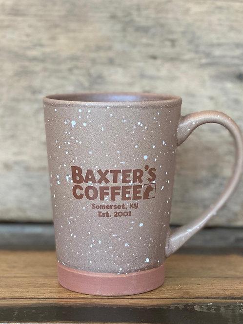 Baxter's Desert Ceramic Coffee Mug, brown