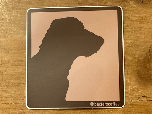 Baxter's Sticker