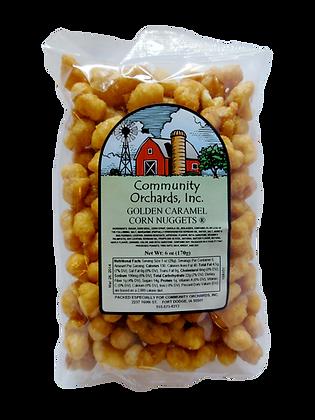 Golden Caramel Corn Nuggets