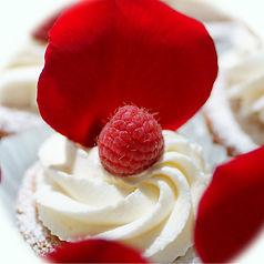 Financier Cakes with Lemon Whip Cream (2